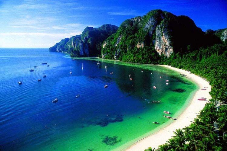 iles autour de koh phi ph