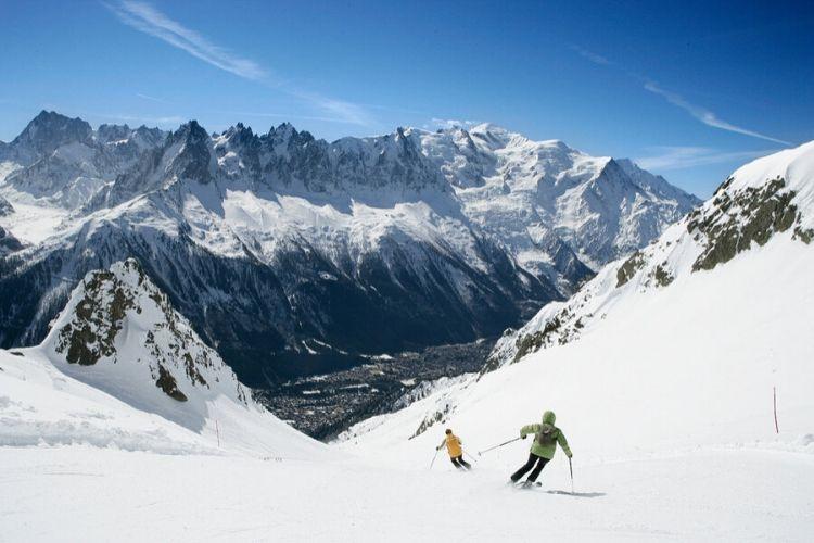 station de ski de Chamonix-Mont Blanc, France