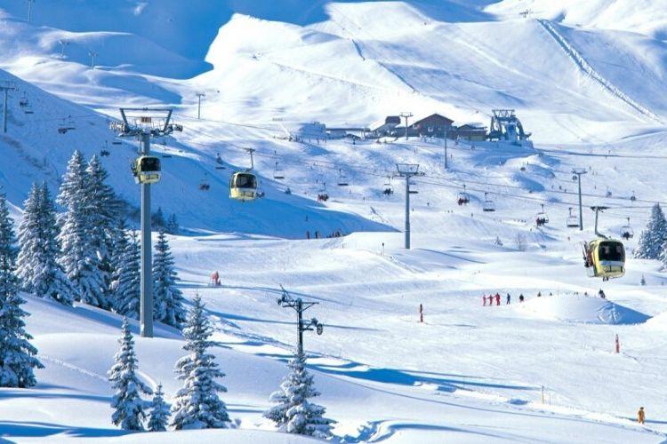 station de ski de Courchevel, France