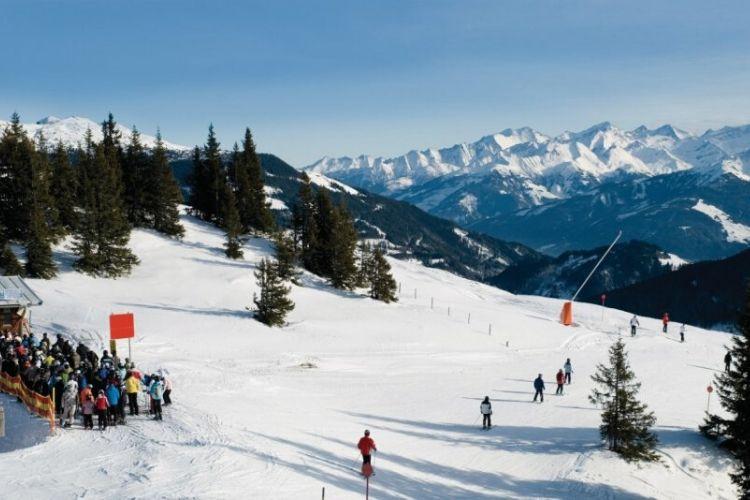 station de ski de Kitzbühel, Autriche