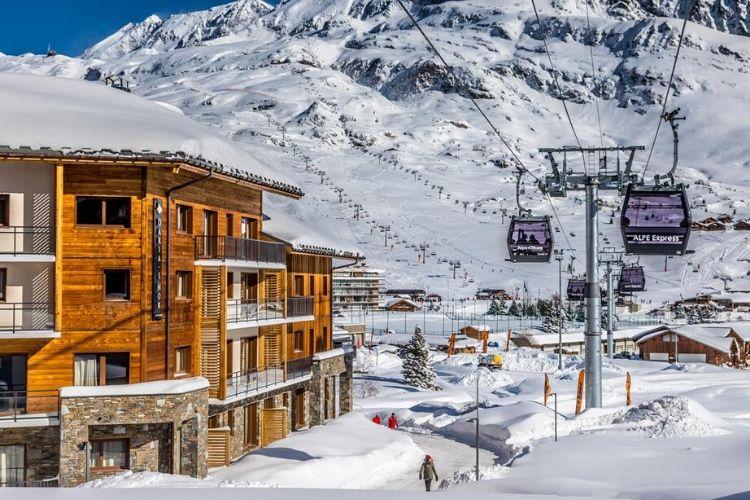 station de ski de L'alpe d'Huez, France