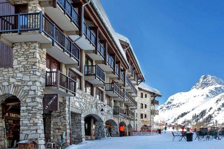 station de ski de Val d'Isère, France