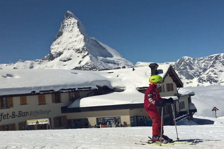 station de ski de Zermatt, Suisse