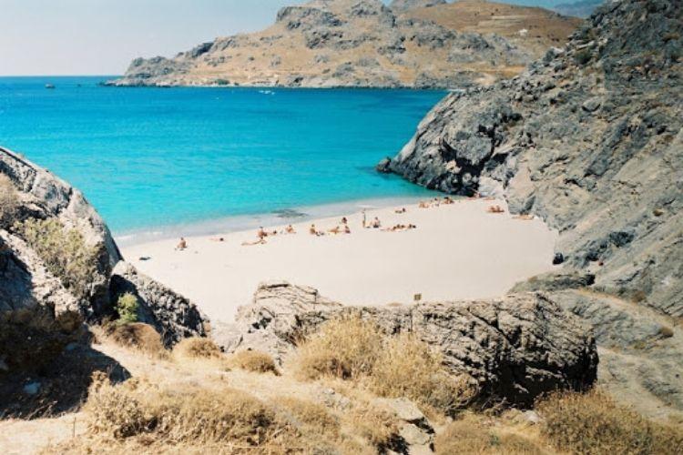plakias plages crete